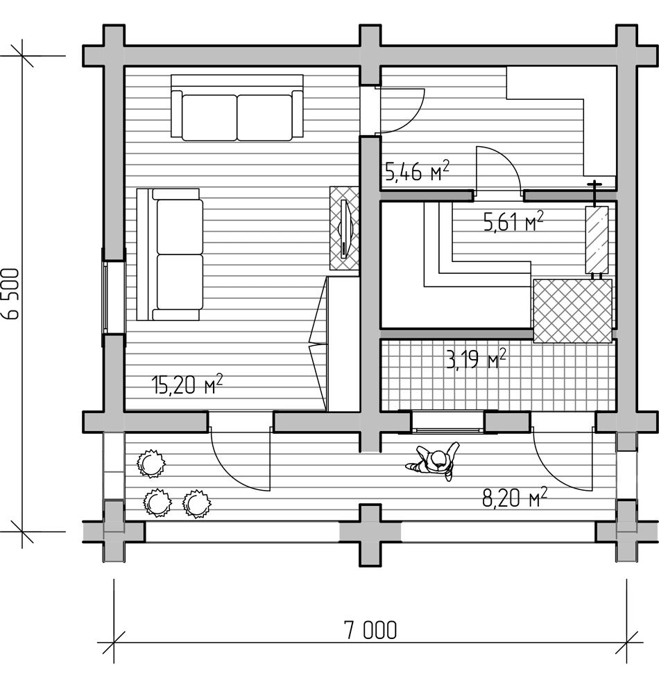 можете проекты бань фото с планом для помещения